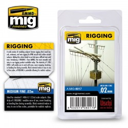 Rigging Fine 0,02mm, 2 m.