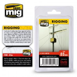 Rigging Medium 0,03mm, 2 m.