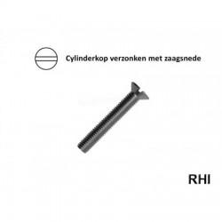 Vis / Countersunk Screw M2x6 A2 10p
