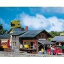 Gare à marchandises / Goods depot H0