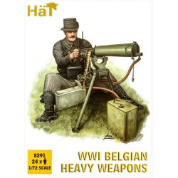 Belgian Heavy Weapon, WWI, 1/72