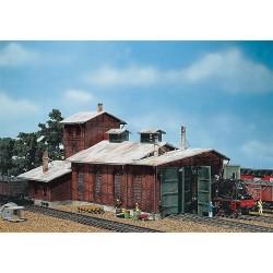 Remise à locomotives 2 emplacements H0
