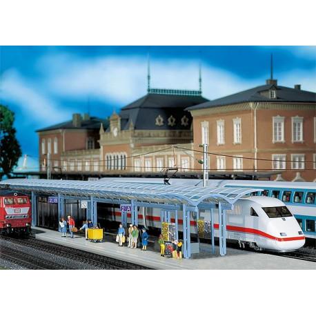 2 Quais de gare ICE Platforms H0