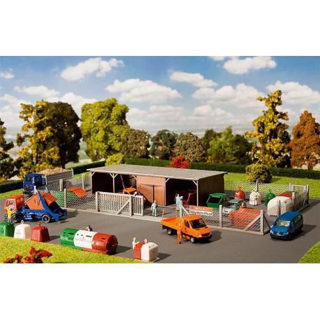 Déchèterie / Recycling depot H0