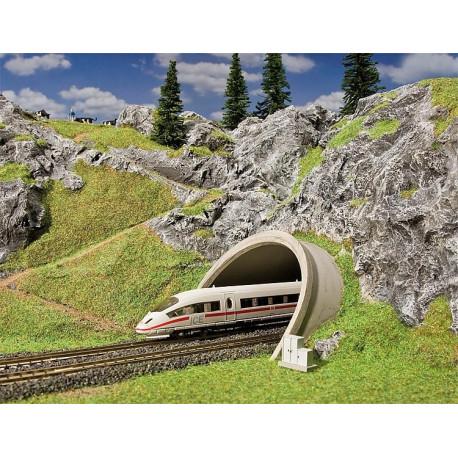 Entrée de tunnel pour route/ICE H0