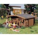 3 Pavillons de jardin / 3 Summer-houses H0