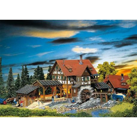 Moulin de scierie / Sawmill H0