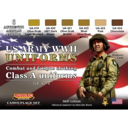 US Army Uniforms Set 1
