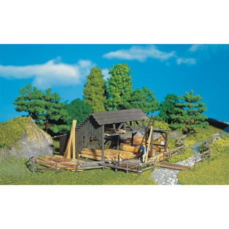 Dépôt de bois / Lumber yard H0