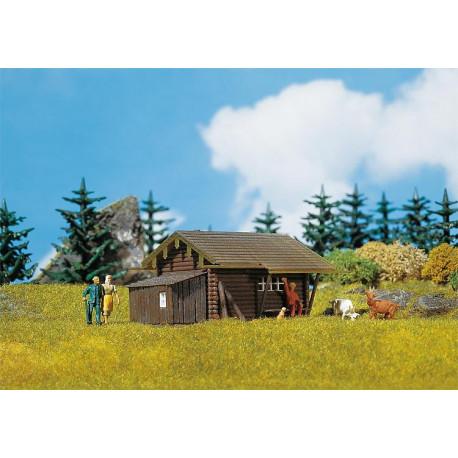 Cabane forestière / Forest log cabin H0