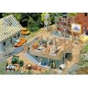 Maison en construction / House under construction H0