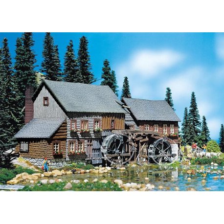 Moulin Hexenloch avec moteur / Hexenloch Mill H0
