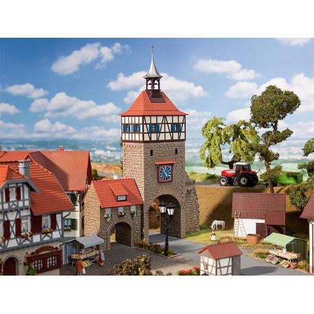 Porte de ville avec châtelet / City gate with gatehouse H0