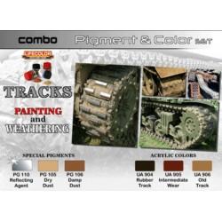 Chenilles Couleurs & Pigments / Tracks Colors & Pigments