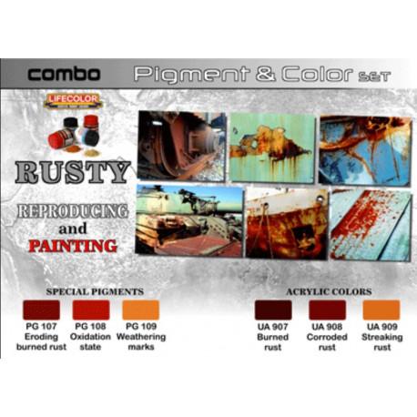 Rouille Couleurs & Pigments Rouille / Rusty Colors & Pigments
