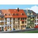 Deux maisons à colombages / 2 Relief houses H0
