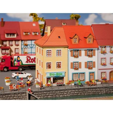 Deux Maisons de petite ville / 2 Village houses H0