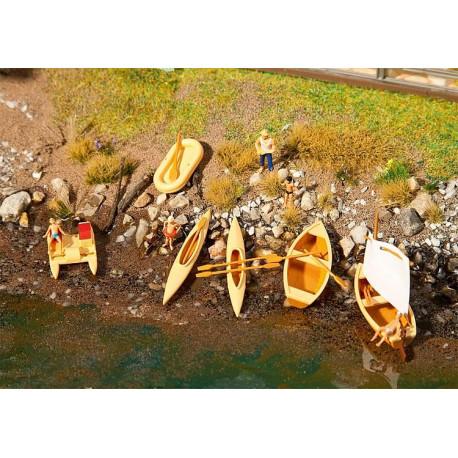 Bateaux et pédalos / Boats and pedaloes H0