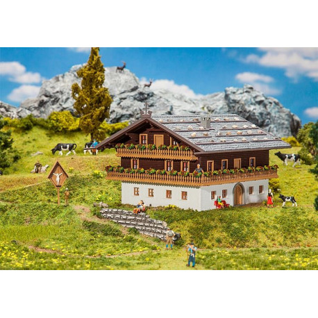 Chalet des Alpes / Alpine farm H0