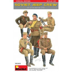 Soviet Jeep Crew 1/35