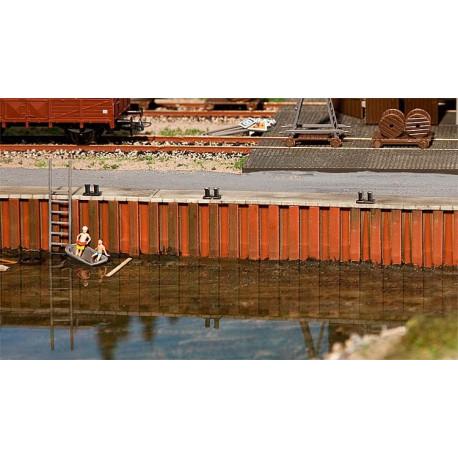 Mur de quai / Quay wall H0
