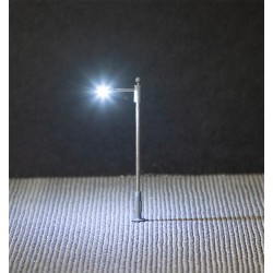 Éclairage public LED, lampe en prolongement / LED Street lighting, pole-integrated lamp N