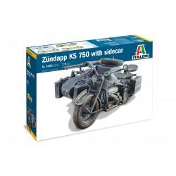 Zundapp KS 750 w/ sidecar 1/9