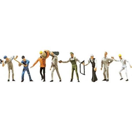 Ouvriers du bâtiment / Construction workers N