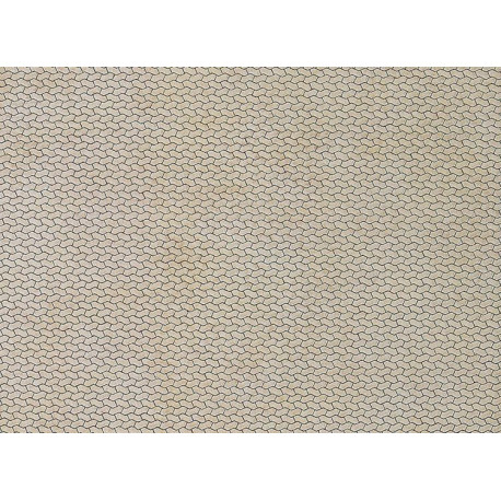 Plaque de mur passage piétons / Wall card, Sidewalk H0