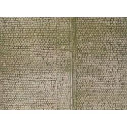 Plaque de mur pavés H0