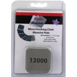 Micro Finishing Cloth Abrasive Paths Grit 3200,3600,4000,6000,8000,12000