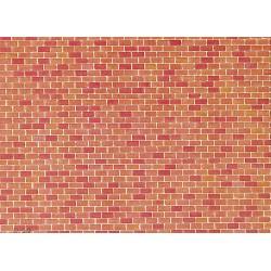 Plaque de mur briques H0