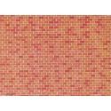 Plaque de mur briques / Wall card, Red brick H0