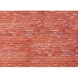 Plaque de mur gres rouge H0
