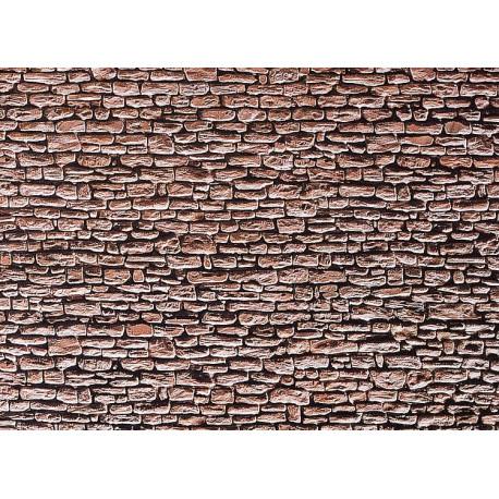 Plaque de mur ardoise / Wall card, Slate H0