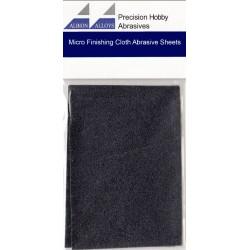 2 Feuilles Abrasives en microfibres, grain 1800 / 2 Micro Finishing Cloth Abrasive Sheet, 1800 Grit