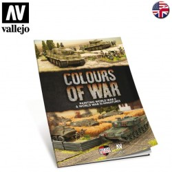 """Livre """"Colours of War"""" Painting WWII"""