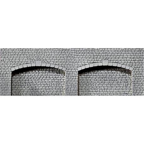Dalle décorative arcade, pierre de taille naturelle / Decorative sheet archway, Natural cut stone H0
