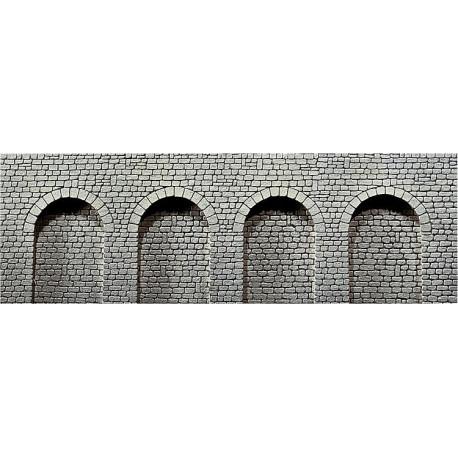 Dalle décorative arcade, pierre de taille naturelle / Decorative sheet arcades , Natural stone ashlars H0