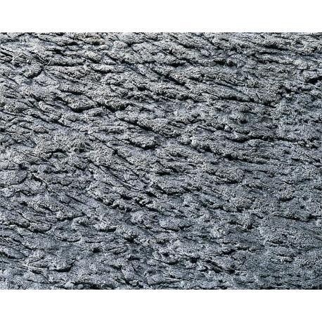 Plaque décor structure rocher / Decorative sheet Pros tunnel tube, Rock structure H0