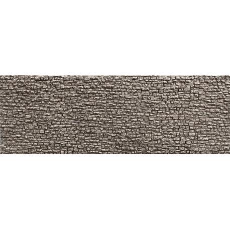 Plaque de décor, Mur en pierres sèches / Decorative sheet Pros, Dry wall H0