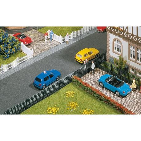 Clôture de jardin en fer p/parc 684 mm / Garden iron fence, 684 mm H0