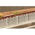 Clôture moderne1242mm / Modern fence, 1242 mm H0