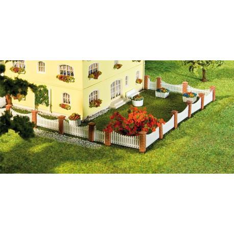 Clôture de jardin 26 pcs, 385mm / Front garden fencing, 385 mm H0