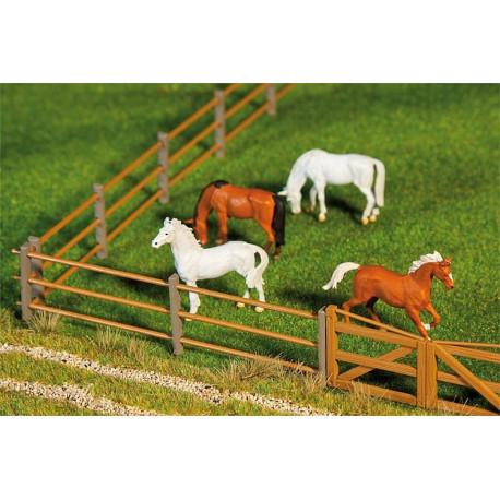 Clôture d'enclos 876mm / Paddock fence I, 876 mm H0