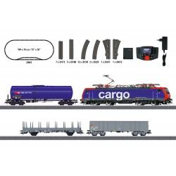 Coffret de départ Train Marchandises SBB, DCC SON MFX, HO