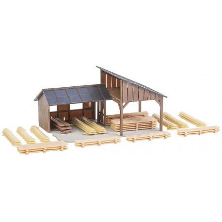 Remise à bois / Timber storage sheds H0