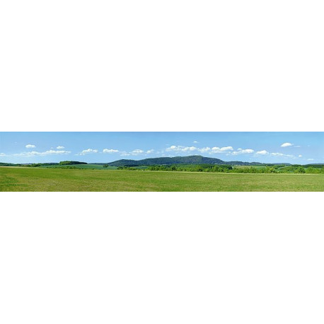 Décor de fond Paysage moyenne montagne / Summer in the Highlands Model background