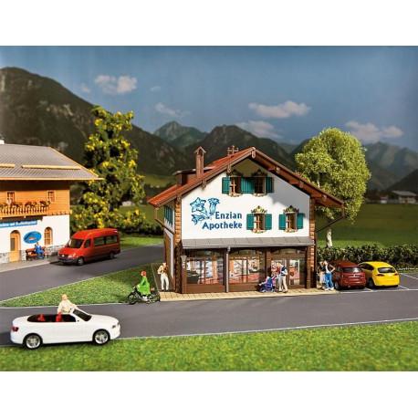 Pharmacie Gentiane / Gentian Pharmacy H0