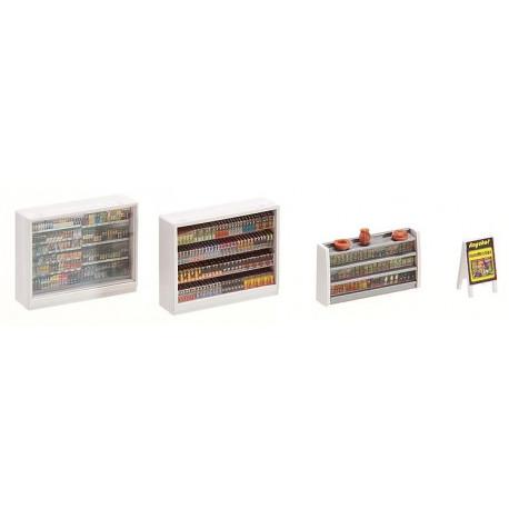 Aménagement intérieur de magasin / Shop's interior equipment H0
